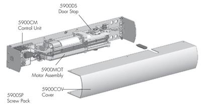 Norton 5900Sp - Screw Pack For Norton 5900 Series
