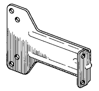S. Parker Hardware 602: Parallel Arm Bracket For 815 Series Door Closers