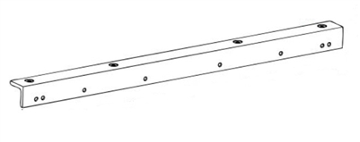 Norton 7100Dab-180 - Drop Angle Bracket, 180 Degrees