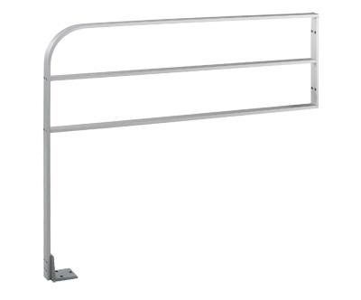 "30"" Height X 42"" Length Aluminum Guide Rail With Horizontal Bar"