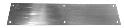 "S. Parker Hardware Kpss834: 8"" X 34"" Stainless Steel Finish Kick Plate"