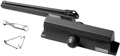 S. Parker Hardware Pa953: 950 Series Size 3 Medium / Heavy Duty Door Closer Tri Pack Includes Parallel Arm Bracket And Sex Bolts (10 Year Warranty)