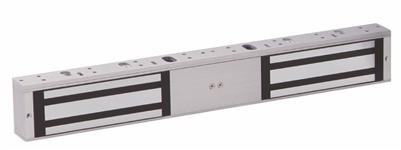 Camden Door Controls Cx-92S-12Tds: 1200 Lbs. Surface Mount Double Door Magnetic Lock With Adjustable Timer, Door Status Switch, Lock Sensor / Relay & Led (Lifetime Warranty)