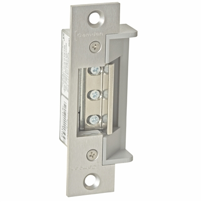 "Camden Door Controls Cx-El3021: Fail Secure 8-16 Ac/Dc - Ansi Round 4 7/8 X 1 1/4"" Electric Strike"