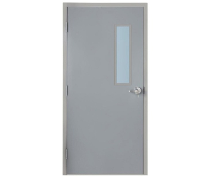 Metal Doors with Glass