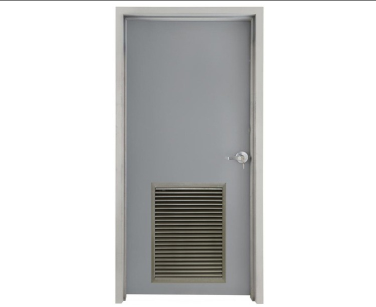 Louvered Metal Doors