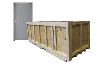 Professional Crating and Palleting of Doors, Frames, and Hardware