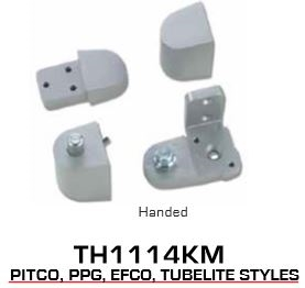 sc 1 st  AutoDoorandHardware & Global Door Controls TH1100 Series Offset Pivots - TH1114KM Pitco Style
